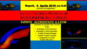 Corso Teorico-Pratico di  ECOGRAFIA Del COLLO @ Incontri sul lungomare | Napoli | Campania | Italia