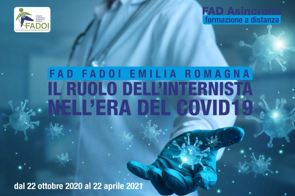 FAD FADOI Emilia Romagna | Il ruolo dell'Internista nell'era del COVID-19 @ FAD ASINCRONA