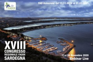 FADOI Sardegna   XVIII Congresso Regionale 2020 @ FAD ASINCRONA + WEBINAR LIVE